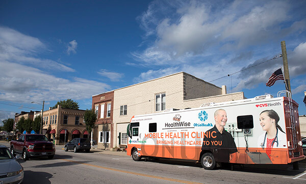 ONU's mobile clinic.